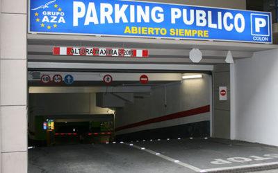 INAUGURACIÓN DE  NUEVO PARKING EN LA CALLE COLÓN