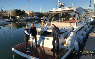 Náutica AZA delivers the first unit in Spain of the new model of Fairline Targa 53 OPEN